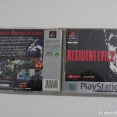 Videojuegos y Consolas: PLAY STATION PS1 - RESIDENT EVIL 2 ED. ESPAÑOL SOLO CAJA, PORTADA Y CONTRAPORTADA. Lote 238074745
