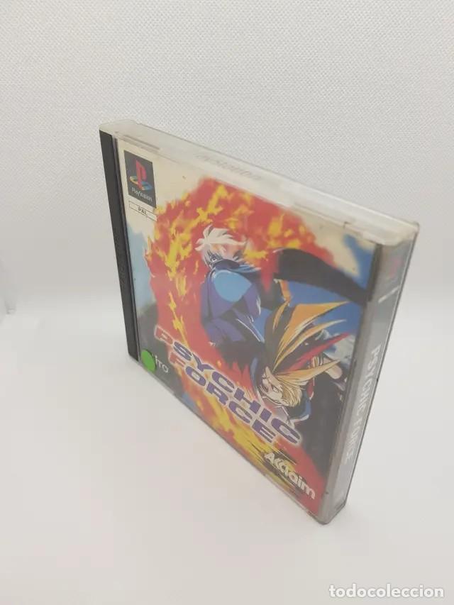 PSYCHIC FORCE PS1 COMPLETO PAL ESPAÑA (Juguetes - Videojuegos y Consolas - Sony - PS1)
