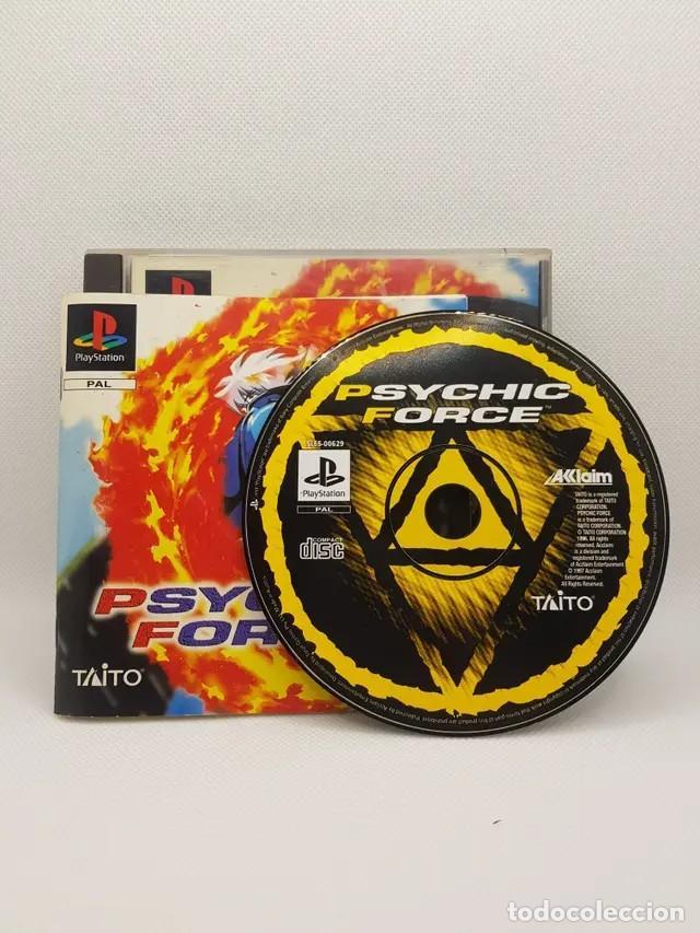 Videojuegos y Consolas: psychic force ps1 completo pal españa - Foto 2 - 241266455