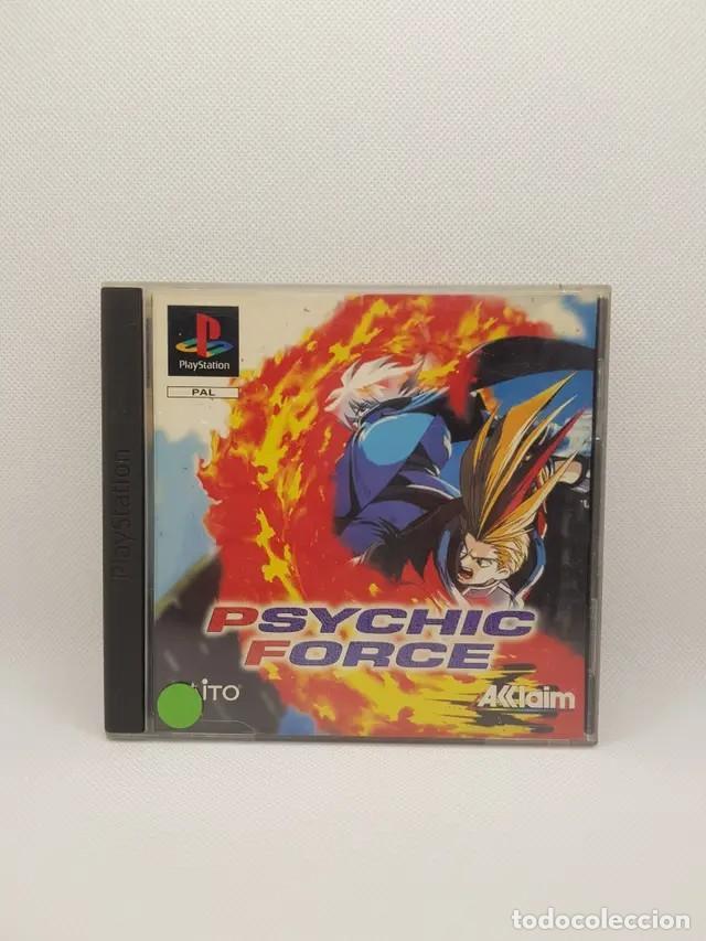 Videojuegos y Consolas: psychic force ps1 completo pal españa - Foto 3 - 241266455