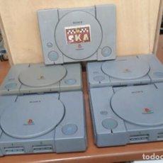 Videojuegos y Consolas: LOTE 5 CONSOLAS PLAYSTATION.1 ..ONE..4 MODELOS. Lote 241424255