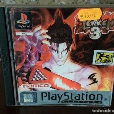 Jeux Vidéo et Consoles: JUEGO PS1, TEKKEN 3, COMPLETO, ORIGINAL Y FUNCIONANDO.. Lote 242146220