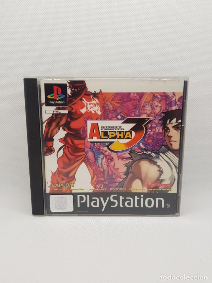 Videojuegos y Consolas: Street fighter alpha 3 ps1 pal Mint condition - Foto 2 - 242866030