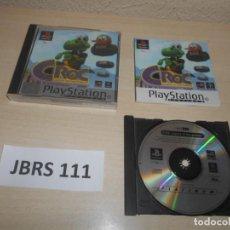 Videojuegos y Consolas: PS1 - CROC - LEGEND OF THE GOBBOS , PAL ESPAÑOL , COMPLETO. Lote 243016190