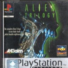 Videojuegos y Consolas: ALIEN TRILOGY PLATINUM PLAY STATION. Lote 243078470