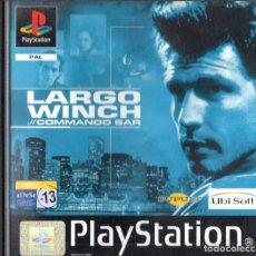 Videojuegos y Consolas: LARGO WINDH COMANDO SAR PLAY STATION. Lote 243078615
