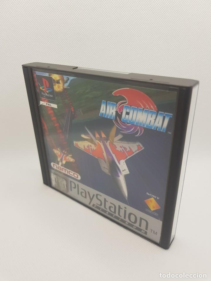 AIR COMBAT PSX PS1 COMPLETO PLATINUM NAMCO (Juguetes - Videojuegos y Consolas - Sony - PS1)
