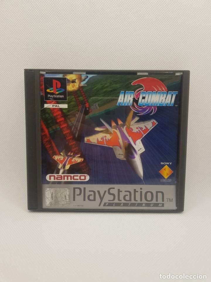 Videojuegos y Consolas: air combat psx ps1 completo platinum NAMCO - Foto 2 - 243793290