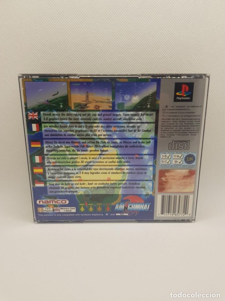 Videojuegos y Consolas: air combat psx ps1 completo platinum NAMCO - Foto 3 - 243793290
