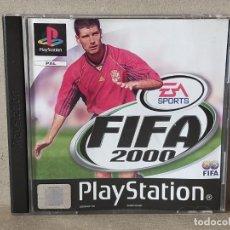 Videojuegos y Consolas: JUEGO VIDEOJUEGO PLAYSTATION PS1 - PSX PAL - FIFA 2000 - COMPLETO. Lote 243881215