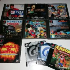 Videojuegos y Consolas: 7 CAJAS ESTUCHES PLAYSTATION VACIAS PS1. Lote 244175795