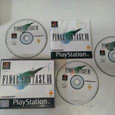 Videojuegos y Consolas: FINAL FANTASY VII PARA PS1 PS2 PS3 SONY ENTRE Y MIRE MIS OTROS JUEGOS DE OTRAS CONSOLAS RETRO.. Lote 244359170