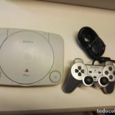 Videojuegos y Consolas: CONSOLA PS PLAYSTATION ONE + MANDO Y CABLES - PROBADA - FUNCIONANDO. Lote 244441650