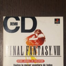 Videojuegos y Consolas: VIDEOJUEGO PS1 - FINAL FANTASY VIII - DEMO DISC - EN ESPAÑOL - SONY - PLAYSTATION -. Lote 244570170