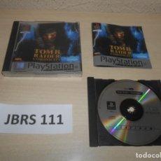 Videojuegos y Consolas: PS1 - TOMB RAIDER CHRONICLES , PAL ESPAÑOL , COMPLETO. Lote 244636670