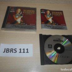 Videojuegos y Consolas: PS1 - TOMB RAIDER II , PAL ESPAÑOL , COMPLETO. Lote 244636700