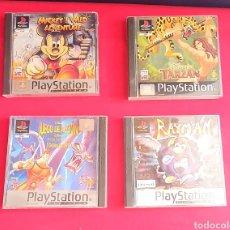 Videojuegos y Consolas: 4 JUEGOS DE PLAYSTATION. Lote 244854105