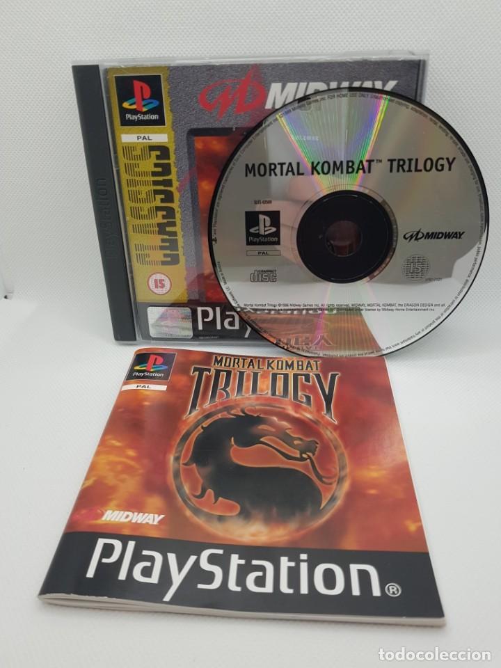 Videojuegos y Consolas: mortal kombat trilogy ps1 completo pal - Foto 2 - 245438900