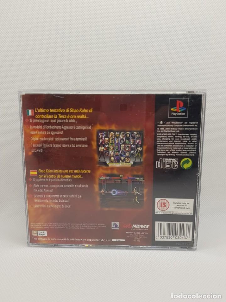 Videojuegos y Consolas: mortal kombat trilogy ps1 completo pal - Foto 4 - 245438900