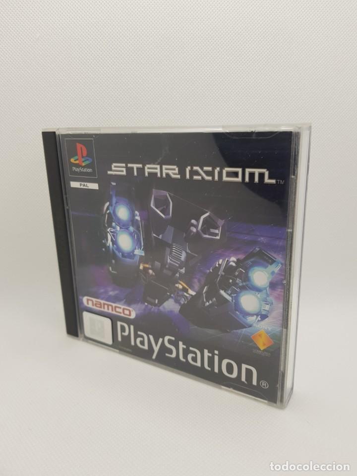 STAR IXIOM COMPLETO PS1 PSX PAL ESPAÑA NAMCO (Juguetes - Videojuegos y Consolas - Sony - PS1)