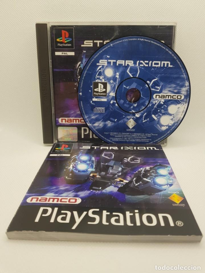 Videojuegos y Consolas: star ixiom completo ps1 psx PAL España NAMCO - Foto 2 - 245502325