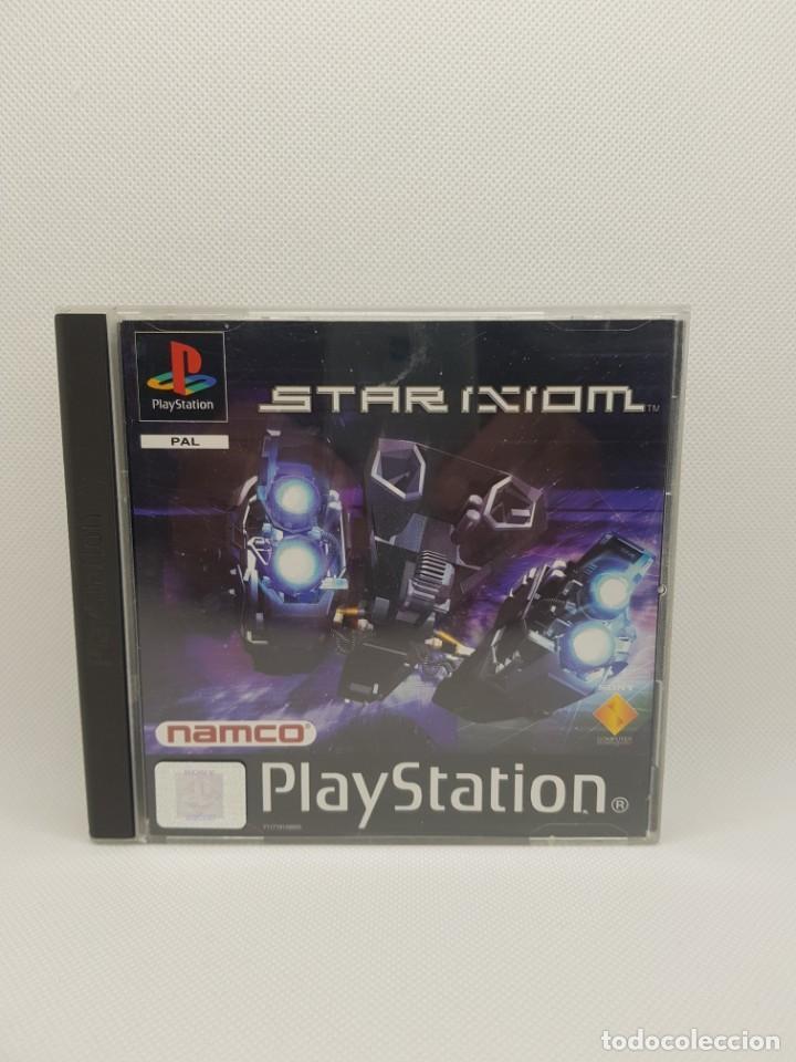 Videojuegos y Consolas: star ixiom completo ps1 psx PAL España NAMCO - Foto 3 - 245502325