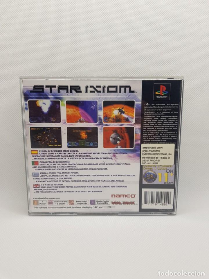 Videojuegos y Consolas: star ixiom completo ps1 psx PAL España NAMCO - Foto 5 - 245502325