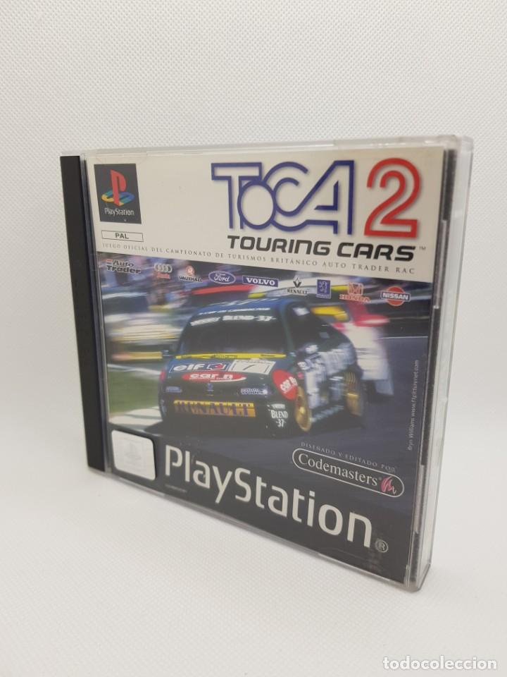 TOCA 2 TOURING CARS PS1 PSX PAL ESPAÑA (Juguetes - Videojuegos y Consolas - Sony - PS1)