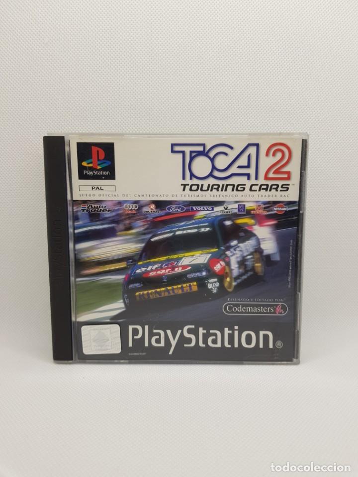 Videojuegos y Consolas: toca 2 touring cars ps1 psx PAL España - Foto 3 - 245566600
