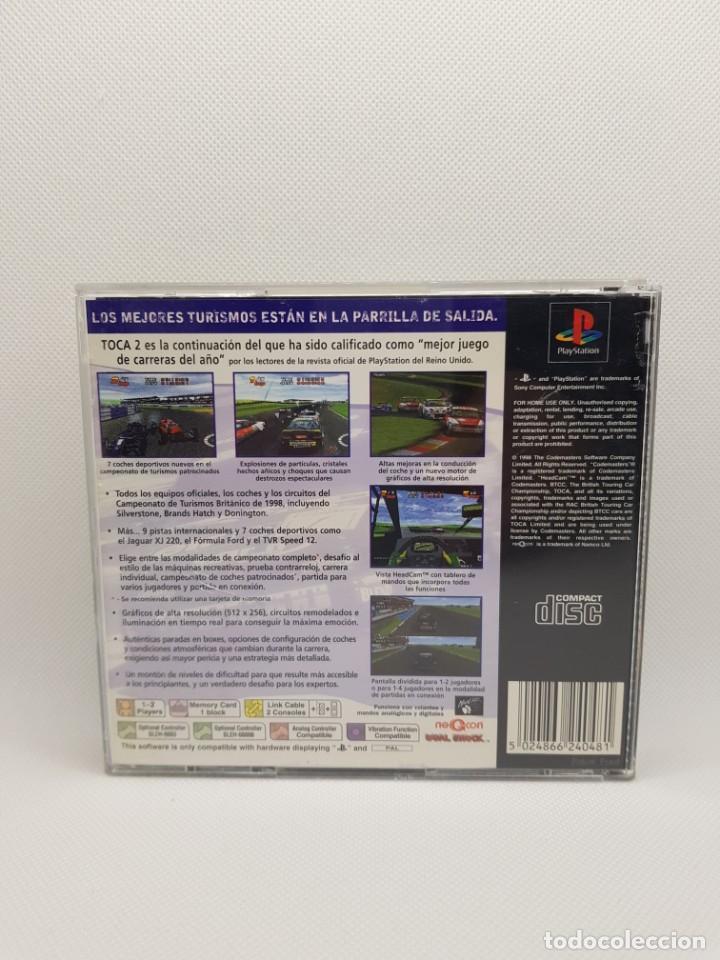 Videojuegos y Consolas: toca 2 touring cars ps1 psx PAL España - Foto 4 - 245566600