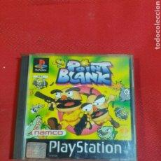 Videojuegos y Consolas: JUEGO PLAYSTATION POINT BLANK. Lote 245694165