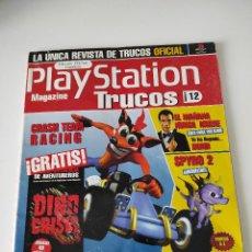 Videojuegos y Consolas: PLAYSTATION MAGAZINE TRUCOS Nº 12 - CRASH TEAM RACING + SPYRO 2 + 007 TOMORROW NEVER DIES PS1. Lote 246083935