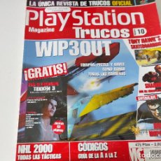 Videojuegos y Consolas: PLAYSTATION MAGAZINE TRUCOS Nº 10 - TONY HAWK + SHADOWMAN + WIP3OUT PS1. Lote 246084675