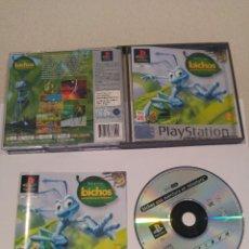 Videojuegos y Consolas: BICHOS PS1 PLAYSTATION PSONE PSX COMPLETO PAL-ESPAÑA. Lote 246204200