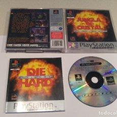 Videojuegos y Consolas: JUNGLA DE CRISTAL TRILOGIA PLAYSTATION PS1 COMPLETO PAL-ESPAÑA. Lote 246256935