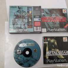 Videojuegos y Consolas: METAL GEAR SOLID SPECIAL MISIONS PS1 PLAYSTATION PSONE PSX COMPLETO PAL-UK. Lote 246517595