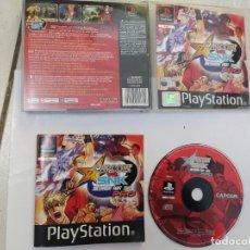 Videojuegos y Consolas: CAPCOM VS SNK PRO 2000 PS1 PLAYSATION 1 PAL-ESPAÑA ORIGINAL 100%. Lote 246519005