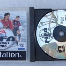 Videojuegos y Consolas: SONY PLAYSTATION PSX 1 JUEGO FIFA FOOTBALL 2005 EN CAJA + MANUAL. Lote 246566690