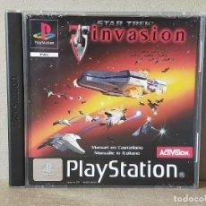 Videojuegos y Consolas: JUEGO VIDEOJUEGO PLAYSTATION PS1 - PSX PAL - STAR TREK INVASION - COMPLETO. Lote 247076290
