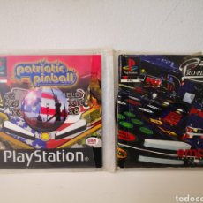 Videojuegos y Consolas: LOTE PINBALL PLAYSTATION : PATRIOT PINBALL + PRO PINBALL. Lote 248501630
