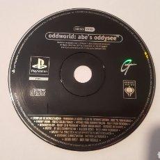 Videojuegos y Consolas: VIDEOJUEGO - ODDWORLD (ABE'S ODDYSEE) DEMO PLAYSTATION (PS1) - PS1 - PSX. Lote 251987825