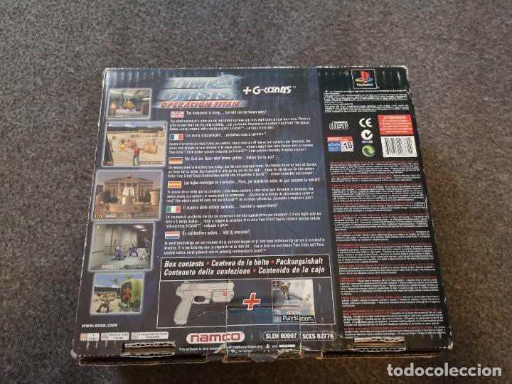 Videojuegos y Consolas: caja con pistola time crisis operación Titán + g-con 45 ps1 + juego time crisis 1 - Foto 4 - 253118530
