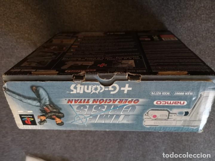 Videojuegos y Consolas: caja con pistola time crisis operación Titán + g-con 45 ps1 + juego time crisis 1 - Foto 6 - 253118530