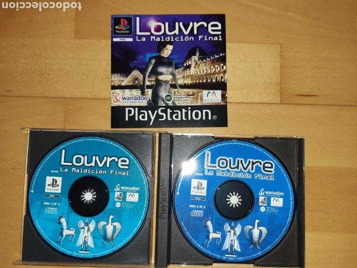 Videojuegos y Consolas: Louvre La Maldición Final Ps1/Psx PAL Castellano Completo. Ver descripción - Foto 2 - 253574165