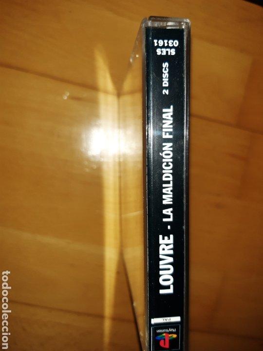Videojuegos y Consolas: Louvre La Maldición Final Ps1/Psx PAL Castellano Completo. Ver descripción - Foto 9 - 253574165