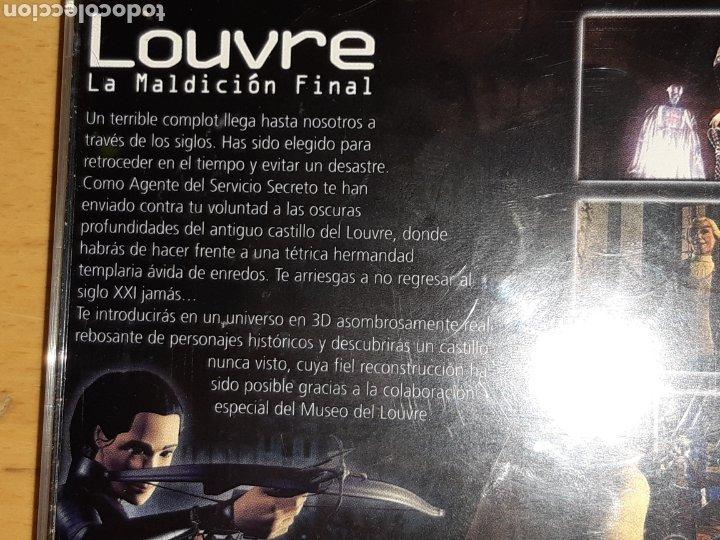 Videojuegos y Consolas: Louvre La Maldición Final Ps1/Psx PAL Castellano Completo. Ver descripción - Foto 7 - 253574165