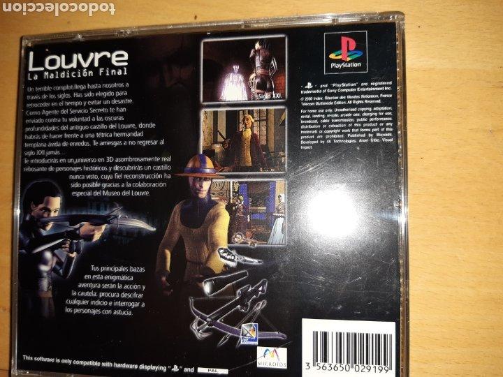Videojuegos y Consolas: Louvre La Maldición Final Ps1/Psx PAL Castellano Completo. Ver descripción - Foto 8 - 253574165