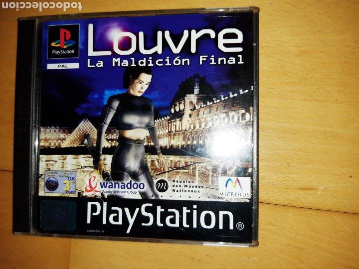 Videojuegos y Consolas: Louvre La Maldición Final Ps1/Psx PAL Castellano Completo. Ver descripción - Foto 3 - 253574165
