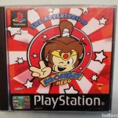 Videojuegos y Consolas: PS1 MONKEY HERO. Lote 254208180