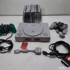Videojuegos y Consolas: CONSOLA PLAYSTATION SONY CON MUCHOS JUEGOS. Lote 254931800